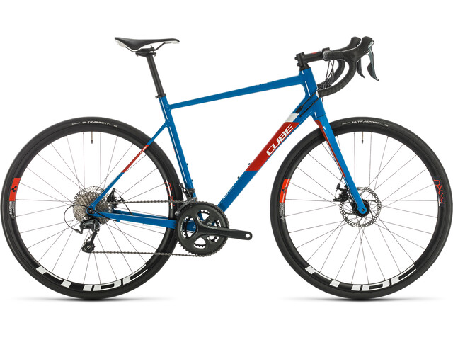 Cube Attain Race Disc blue'n'red